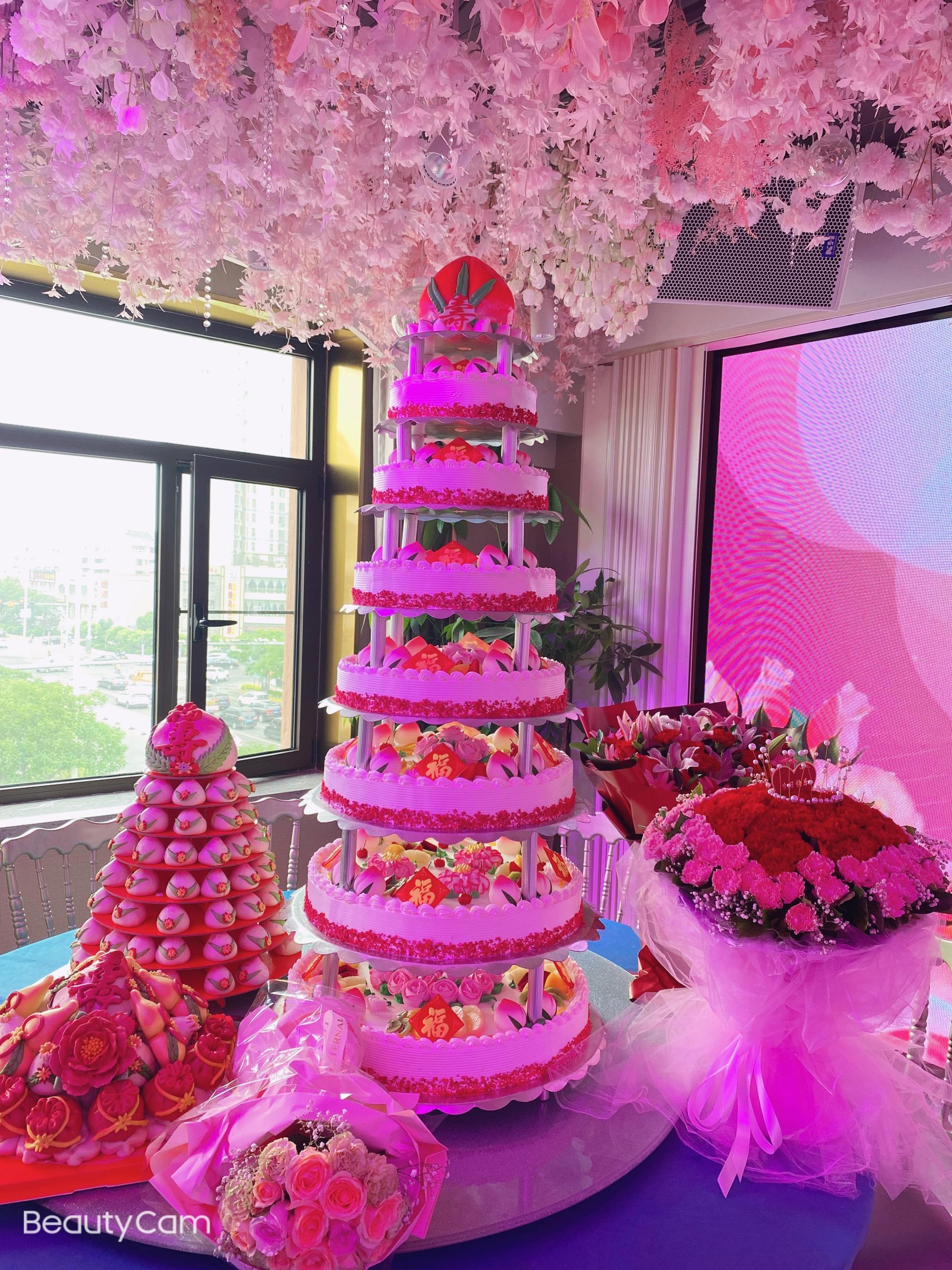天津滨海新区晴儿爱心蛋糕